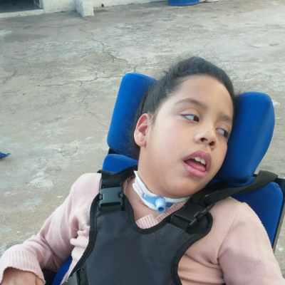 Assistida: Maria Luiza Moreira da Silva - Diagnóstico: Paralisia Cerebral e Encefalopatia Isquêmica