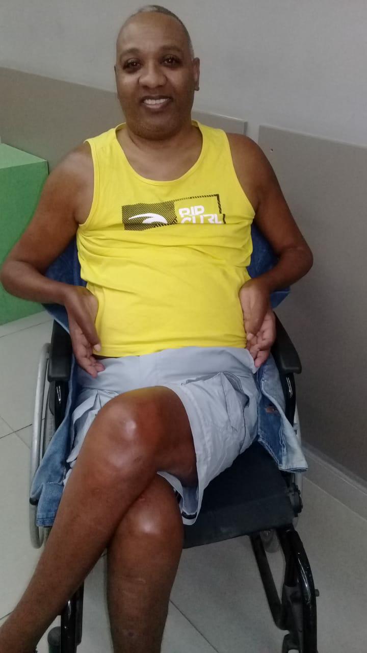 Assistido: Eduardo Pires - Diagnóstico: Tetraplegia